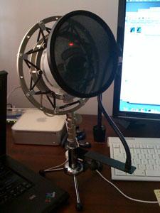 Blue USB Microphone Setup