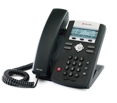 Polycom 335 HD Voice SIP VOIP Phone